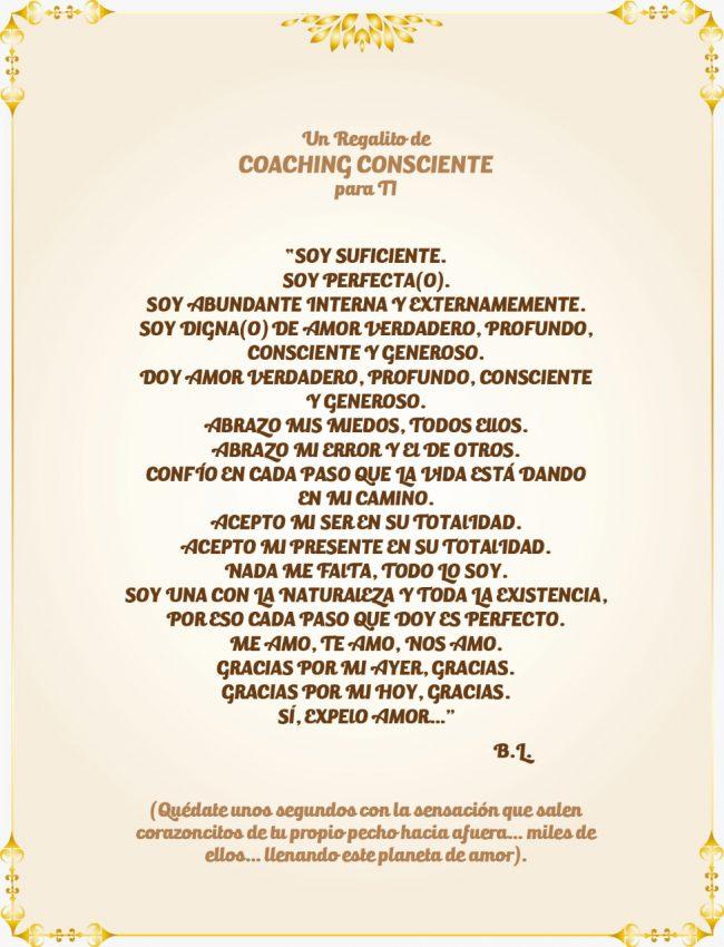 Regalito - Coaching Consciente - BL